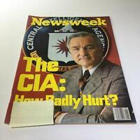 Newsweek Magazine: February 6 1978 - The CIA: How Badly Hurt?