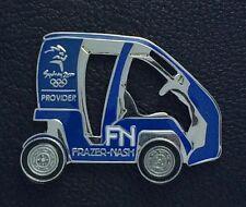 Frazer-Nash Olympic Sponsor Pin~Sydney~2000~Auto~Car~Moving wheels~LE# 1694/2000
