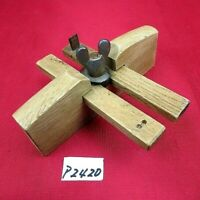 2hon-sao kebiki / Japanese two-rod ruler / woodworking carpentry Tool P2420