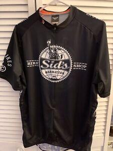 Sid's Bike Shop Manhattan Twin Six Cycling Jersey 2XL