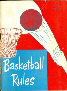 1951-52 Official Basketball Rules National Federation Edition