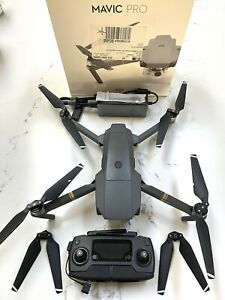 DJI Mavic Pro Quadcopter with Remote Controller - Grey