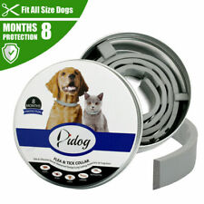 Flea and Tick Collar for Large Dog Over 18lbs 8 Month Protection Hight Quality