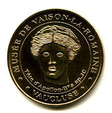 84 VAISON-LA-ROMAINE Musée, Tête d'Apollon, 2002, Monnaie de Paris