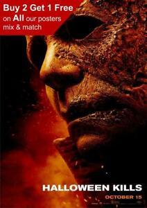 Halloween Kills 2021 Teaser Poster A5 A4 A3 A2 A1
