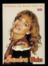 Sandra Weiss Autogrammkarte Original Signiert ## BC 88672
