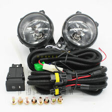 Front Bumper Fog Lamps For 2016 Suzuki Grand Vitara w/Switch Wire Bulbs /1Set