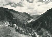 St. Wilhelmer Tal im Schwarzwald - Eisenbahnbrücke  um 1960   A 18-35