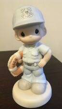New ListingPrecious Moments Soldier Boy Coast Guard 588148 Proud to be An American Nib