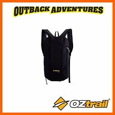 OZTRAIL LITE 10L DAY PACK - BLACK - CAMPING HIKING SMALL BACK PACK NEW MODEL