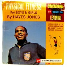 View-Master B952, Physical Fitness For Boys & Girls By Hayes Jones, 3 Reel Set