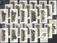 TADDY & Co.-FULL SET- RAILWAY LOCOMOTIVES (MYRTLE GROVE 26 CARDS) - EXC+++
