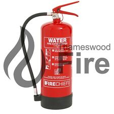 6 LitreWater Fire Extinguisher 6LTR Including Bracket - CE Marked - Fire Chief