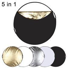 Réflecteur photo circulaire avec poignées 110 cm 5 en 1 PULUZ avec sac transport