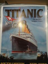 Cunard White Star Titanic Large Posters