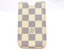 AUTHENTIC LOUIS VUITTON PARIS DAMIER AZUR HARD PHONE CASE IPHONE 4