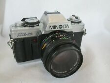 Minolta XG-M Camera with 50mm 1:17 Lens