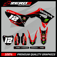 Custom MX Graphics Kit: HONDA CR CRF CRF-X CRF-RX 125 - 450 - GRN NRG