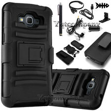 For Samsung Galaxy Core Prime Prevail LTE G360 Stand Case Holster + Accessories