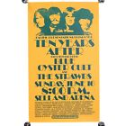 """Vintage Ten Years After Blue Oyster Cult Pacific Presentations Poster 22 X 13"""""""