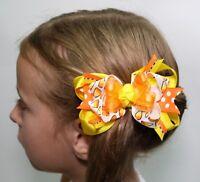 New Gymboree Hair streemer Ponytail Holder Hair Accessory NWT Cherry Blossom