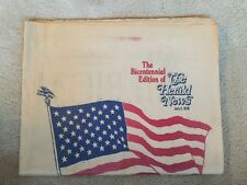 THE HERALD NEWS New Jersey NEWSPAPER JULY 3, 1976 BICENTENNIAL EDITION  (Rare)