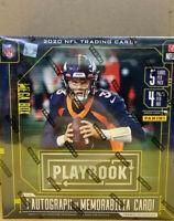 2020 Playbook Football Mega Box - 1 Auto Or Mem Per Box on Avg- Justin Herbert?