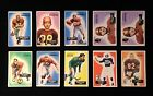 Attic Find - Lot of 20 - 1955 BOWMAN FOOTBALL CARDS - Ed Brown RC, Fran Rogel