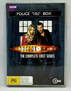 DOCTOR WHO Complete First Series Season 1 One DVD 5 Discs Region 4