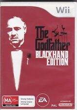 Wii Game - The Godfather Blackhand Edition (Nintendo) PAL