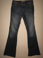 12KX)) FEMME LEVIS 476 slim bootcut jeans bleu taille 28 Jambe 30 Braguette Zippée