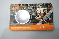 5 Euro Nederland Fanny Blankers in Coincard BU