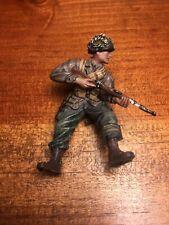 Forces Of Valor Unimax 1:32 US Airborne Paratrooper Metal Figure