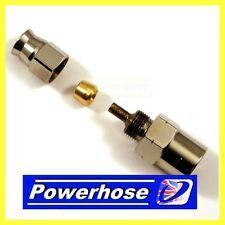 Compression fitting M10 x 1mm female hose end concave seat. AN-3 hose 3/10100FHC