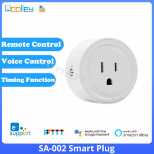 Smart Wifi ZigBee Plug Socket Outlet Timer Light Switch Work w/Alexa Google Home