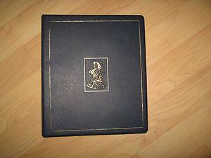 Hummel Club Binder - Vintage 1990's Blue Figurine Collector Notebook Scrapbook
