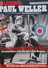 Q Legends Paul Weller  Four Decades of Fire & Skill  FREE SHIPPING CB