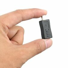 Black Micro USB Female to Mini USB Male Adapter Converter Adaptor#^