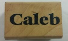 Caleb Personalized Name Rubber Stamp Stampa Tampa