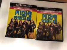 Pitch Perfect 3 (4K Ultra HD) 1 Disc Set ( No Digital HD) Ship Now