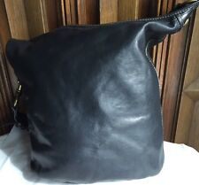COACH LEGACY N0. F0793-11423 SATCHEL / SHOULDER BAG BLACK LEATHER HANDBAG
