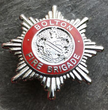 Bolton Fire Brigade Cap Badge
