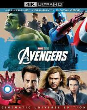 The Avengers (4K Ultra HD / Blu-Ray / Digital 2018, 2-Disc Set) NEW