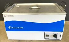 FISHER SCIENTIFIC ULTRASONIC CLEANER FS220H MECHANICAL TIMER and HEATER