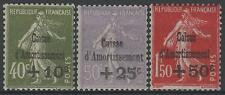 "FRANCE STAMP TIMBRE 275/277 "" CAISSE AMORT. 5e SERIE 1931 "" NEUFS xx TTB  M736"