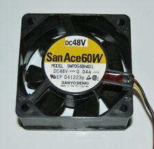 SANYO DENKI SanAce 60W 9WP0648H401 DC 48V 0.4A Cooling Fan, 041223P IP68, NEW