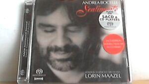 SACD  Andrea Bocelli  - Sentimento -
