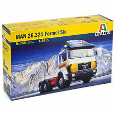 ITALERI 756 Man 26.321 'Formel Six' Truck 1:24 Truck Model Kit