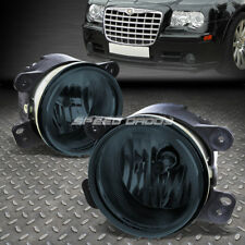 FOR 05-10 CHRYSLER 300/300C SRT-8 SMOKED LENS OE BUMPER DRIVING FOG LIGHT LAMP