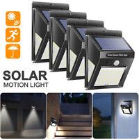 8Pack 140LED Solar Power Light Motion Sensor Garden Lighting Outdoor Wall Lamp